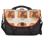 EMOTIONS - CHOCOLATE COMMUTER BAGS