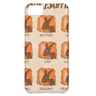 EMOTIONS - CHOCOLATE COVER FOR iPhone 5C