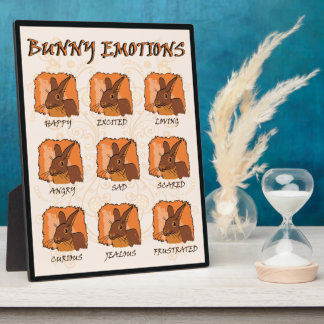EMOTIONS - CHOCOLATE DISPLAY PLAQUES