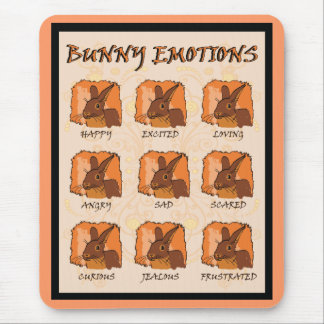 EMOTIONS - CHOCOLATE MOUSE PAD