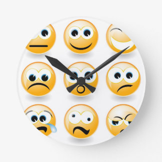 Emotions for every day wallclocks