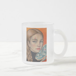 Emotions Frosted Glass Coffee Mug