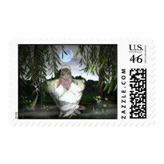 Emotions-I wept Postage Stamps