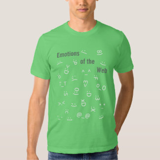Emotions of the Web Tee Shirt