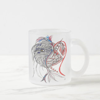 Emotions Spirit Frosted Glass Coffee Mug