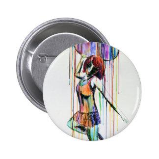 Emotive Hoop Dancer 2 Inch Round Button