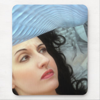 Emotive Whirlwind - Self Portrait Mouse Pad