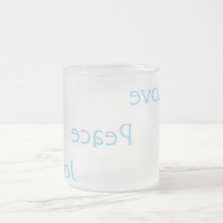 Emoto Inspire 1 Frosted Glass Coffee Mug