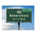 Empalme de Bakersfield de la carretera 58 de CA
