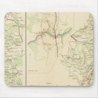 Empalme del condado de Spotsylvania Hannover Tapetes De Raton
