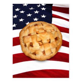 Empanada americana (empanada de Apple con la Postal