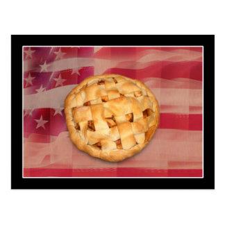 Empanada americana en vieja gloria postal