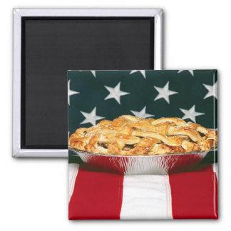 empanada americana imán cuadrado
