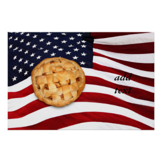 Empanada americana póster