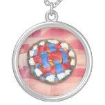 Empanada blanca y azul roja en vieja gloria joyeria personalizada