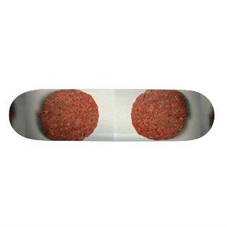 Empanada cruda de la hamburguesa patineta personalizada