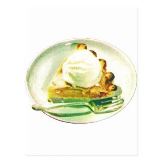 Empanada de Apple 1955 Tarjeta Postal
