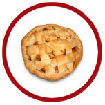 Empanada de Apple (añada el color de fondo) Escultura Fotografica