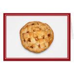 Empanada de Apple (añada el color de fondo) Tarjetón