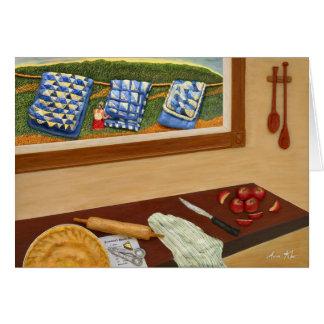 Empanada de Apple de la abuela Tarjeta De Felicitación