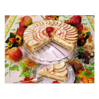Empanada de Apple delicioso Postal