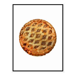 Empanada de Apple fresca caliente Postal