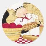 Empanada de Apple Pegatina