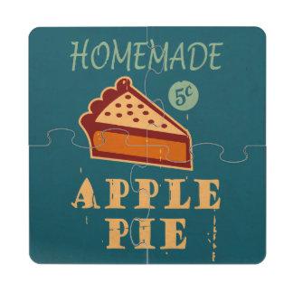 Empanada de Apple Posavasos De Puzzle