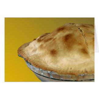 Empanada de Apple Tarjeta De Felicitación