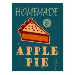 Empanada de Apple Tarjeta Postal