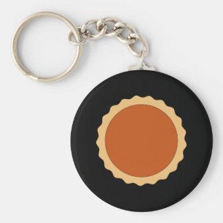 Empanada de calabaza llavero redondo tipo pin