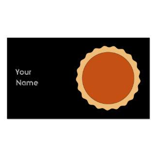 Empanada de calabaza tarjeta de visita