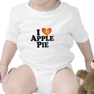 Empanada de I (corazón) Apple - Multi-Productos de Trajes De Bebé