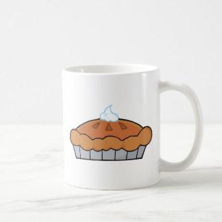 Empanada de la acción de gracias del dibujo animad tazas de café