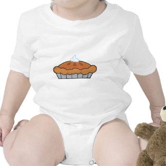 Empanada de la acción de gracias del dibujo trajes de bebé