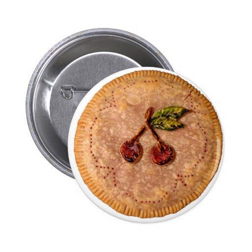 Empanada de la cereza pin redondo 5 cm