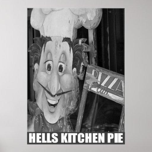 """""""Empanada de la cocina del infierno"""" por el estudi Posters"""