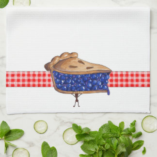 Empanada de la comida campestre - toalla de cocina