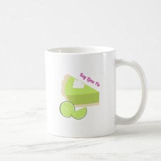 Empanada de la lima agria taza de café