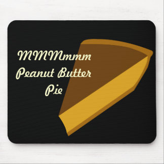 Empanada de la mantequilla de cacahuete mouse pads