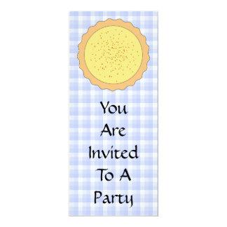 """Empanada de las natillas. Tarta amarilla, con Invitación 4"""" X 9.25"""""""