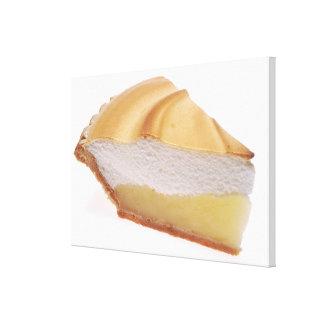 Empanada de merengue de limón lienzo envuelto para galerias