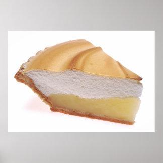 Empanada de merengue de limón poster
