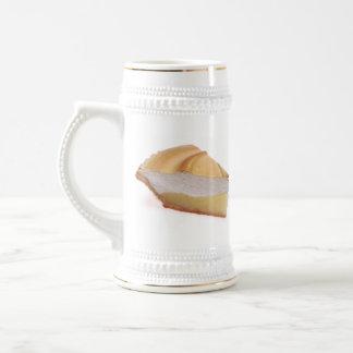 Empanada de merengue de limón jarra de cerveza