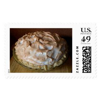Empanada de merengue de limón timbres postales
