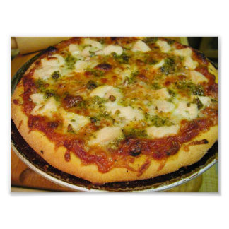 Empanada de pizza de la diversión póster