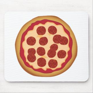 Empanada de pizza de salchichones tapetes de ratones