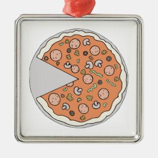 Empanada de pizza adornos