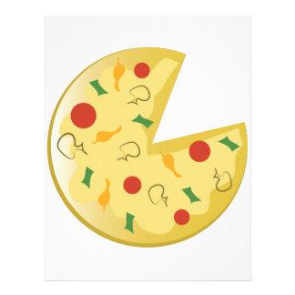 Empanada de pizza plantillas de membrete
