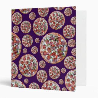 Empanada de pizza púrpura